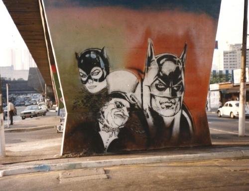 Grafites na Cruzeiro do Sul  Zona Norte – São Paulo